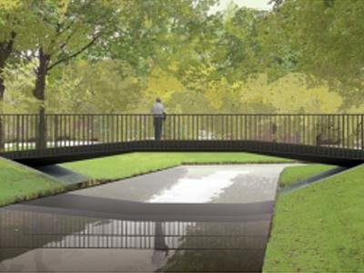 Opening brug Randpark Rotterdam